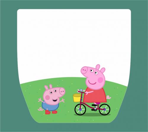 Máscara de Proteção Individual / Face Shield - Infantil Peppa Pig