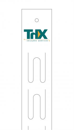 Fita Cross para PDV Branca ou Personalizada  ( teste cm² )
