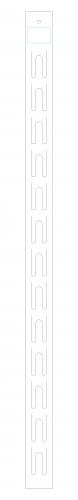 Fita Cross Branca para PDV Personalizada com sua Marca
