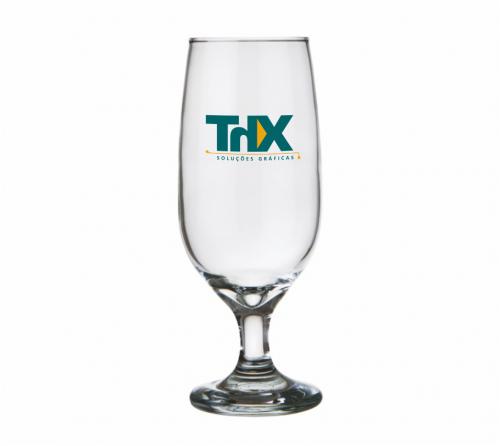 Copo de vidro personalizado - Taça Floripa 300ml - ThX_21-022