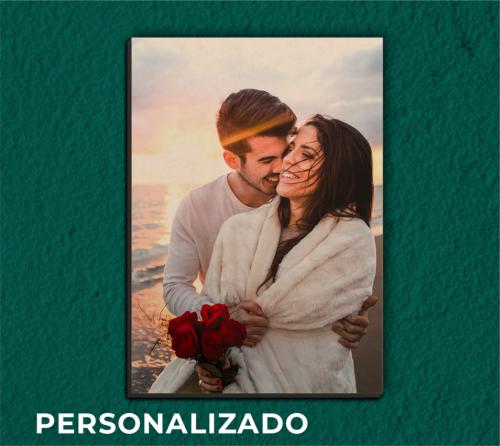 Quadro Personalizado Dia dos Namorados 21x30cm - Sem Moldura