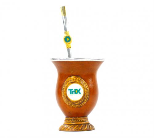 Kit Cuia + Bomba Personalizada  -  ThX_26-005